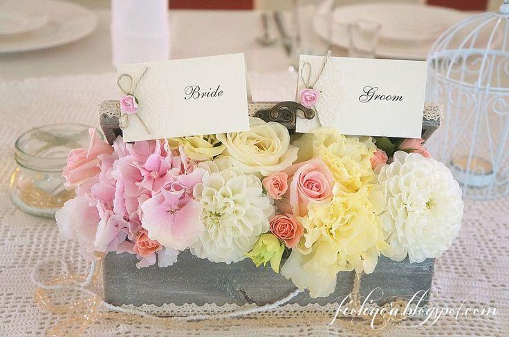 Fiolinea - Ślubna Galanteria Papiernicza: Polsko-irlandzkie wesele vintage w Pałacu Brunów