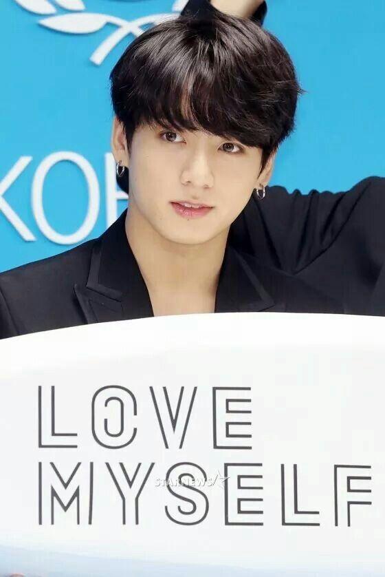 Jungkook black hair