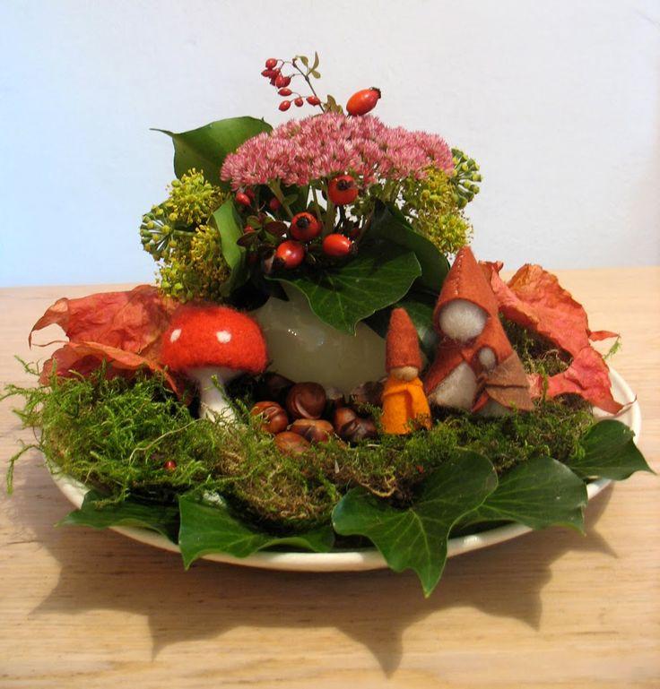 Nature Table September - Jahreszeitentisch September