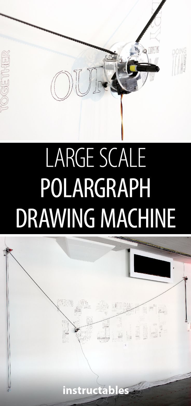 This is one giant drawing robot! ✏️