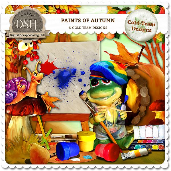 """""""Paints of autumn"""" by Gold Team"""