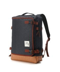 Multipocket Backpack Black by BagDoRi on Etsy, $77.90 -- Pair with comfy and minimalist tees from www.eastbureauco.com