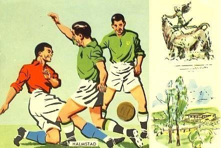 Fotbolls-VM 1958 Argentina - Nordirland på Tradera
