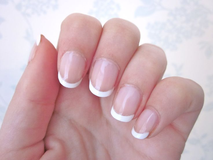 14 best french nails images on pinterest white tip nails french french nails nail design ideas 2015 prinsesfo Images