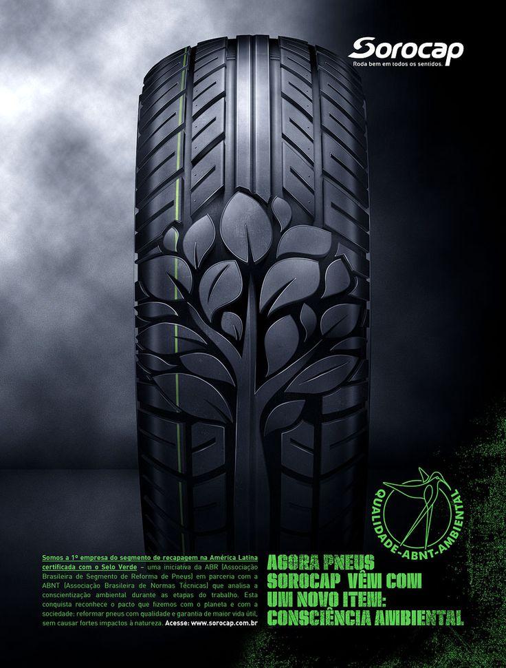 """Sorocap"" green tire"