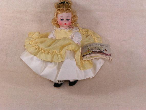 Vintage Mint Madame Alexander Little Women Amy Doll 1960s