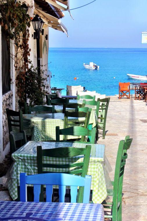 .~A Day in Agios Nikitas - Lefkada, Greece@adeleburgess~.