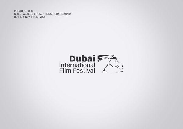 Dubai Film Festival Rebrand Pitch by Ryan Atkinson