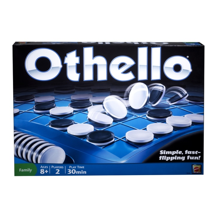 Othello® Game - favorite game ever!!! Great two person game
