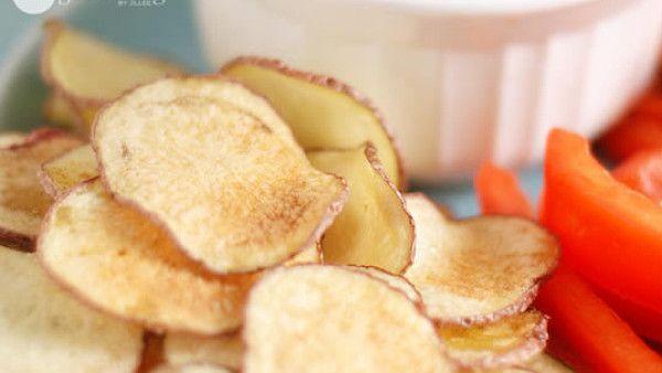 Domácí chipsy - 1 bez smažení