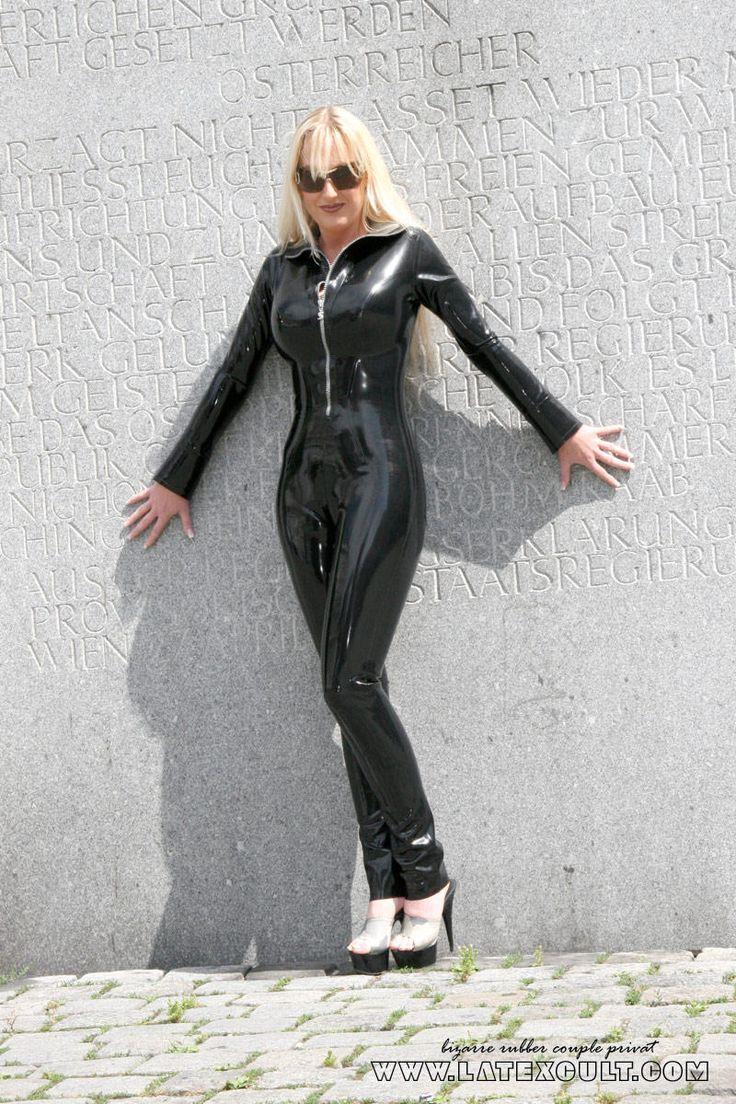 Latexcult Manuela Privat Lt Latex Catsuit и Sexy