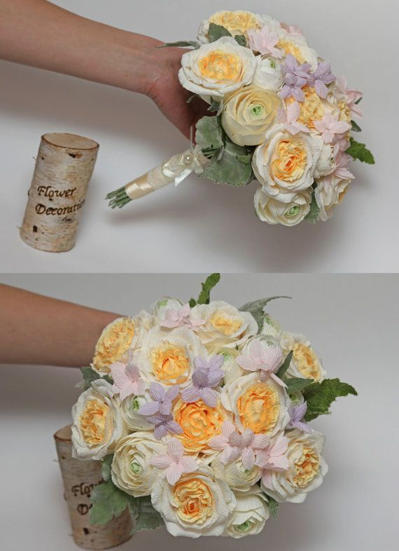 wedding bouquet bridal flower bridal bouquet paper flower