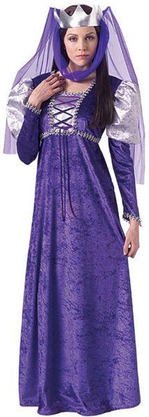 Naamiaisasu; Renesanssi kuningatar Renesanssi kuningatar standardikokoisena. Tässä asussa olet historiallisen kaunis. #naamiaismaailma