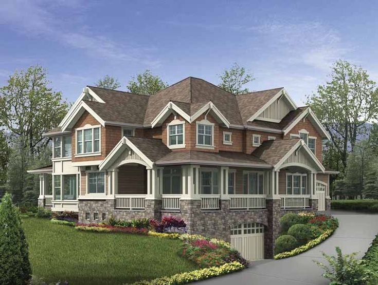 Eplans Craftsman House Plan Stunning Exterior With