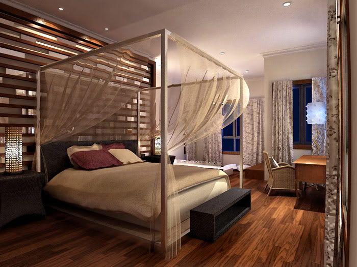 modern balinese decor bedroom interior design august 2009 - Bali Bedroom Design