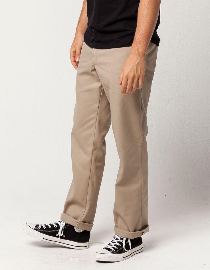 Dickies 874 flex original fit mens pants khaki