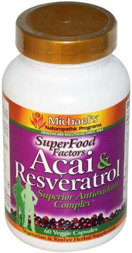Michael's Naturopathic Acai & Resveratrol Superior Antioxidant Complex