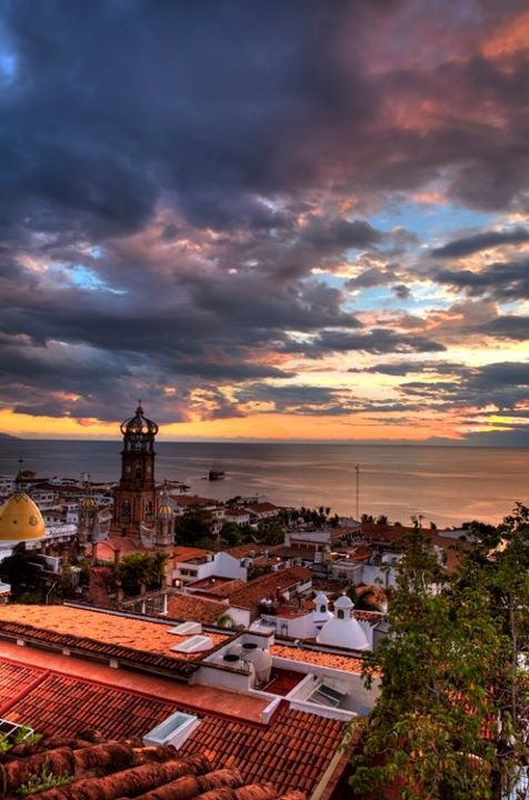 Puerto Vallarta, Mexico by josef kandoll....I have been here and someday will be there again!   Breathtaking photo!!