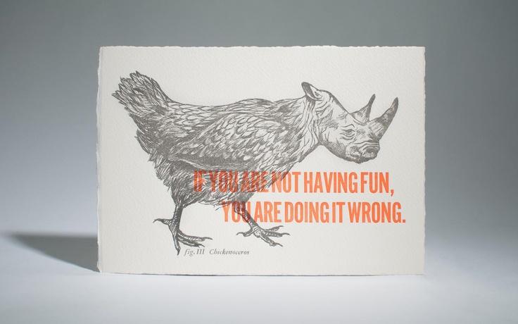 The Chickenoceros - by Cecilia Hedin