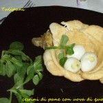 Antipasti pasquali...ma buoni in qualunque situazione http://blog.cookaround.com/vincenzina52/cestini-pane-uova-quaglia/