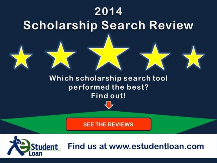 2014 Scholarship Search Service Reviews - Compare Scholarship Search Engines  | eStudentLoan