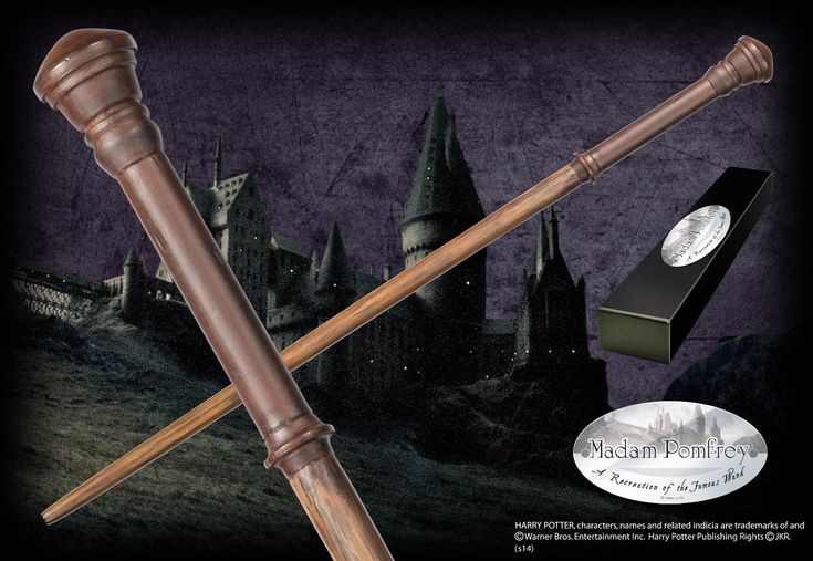 Madame Pomfrey's Character Wand - The Noble Collection