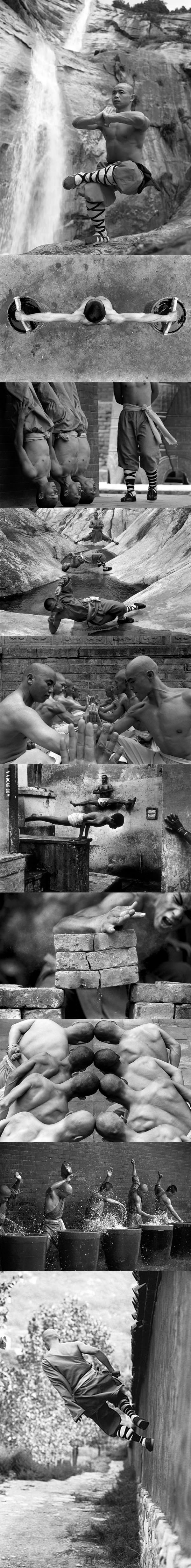 The Dedication of Shaolin Monks: Mind over Matter