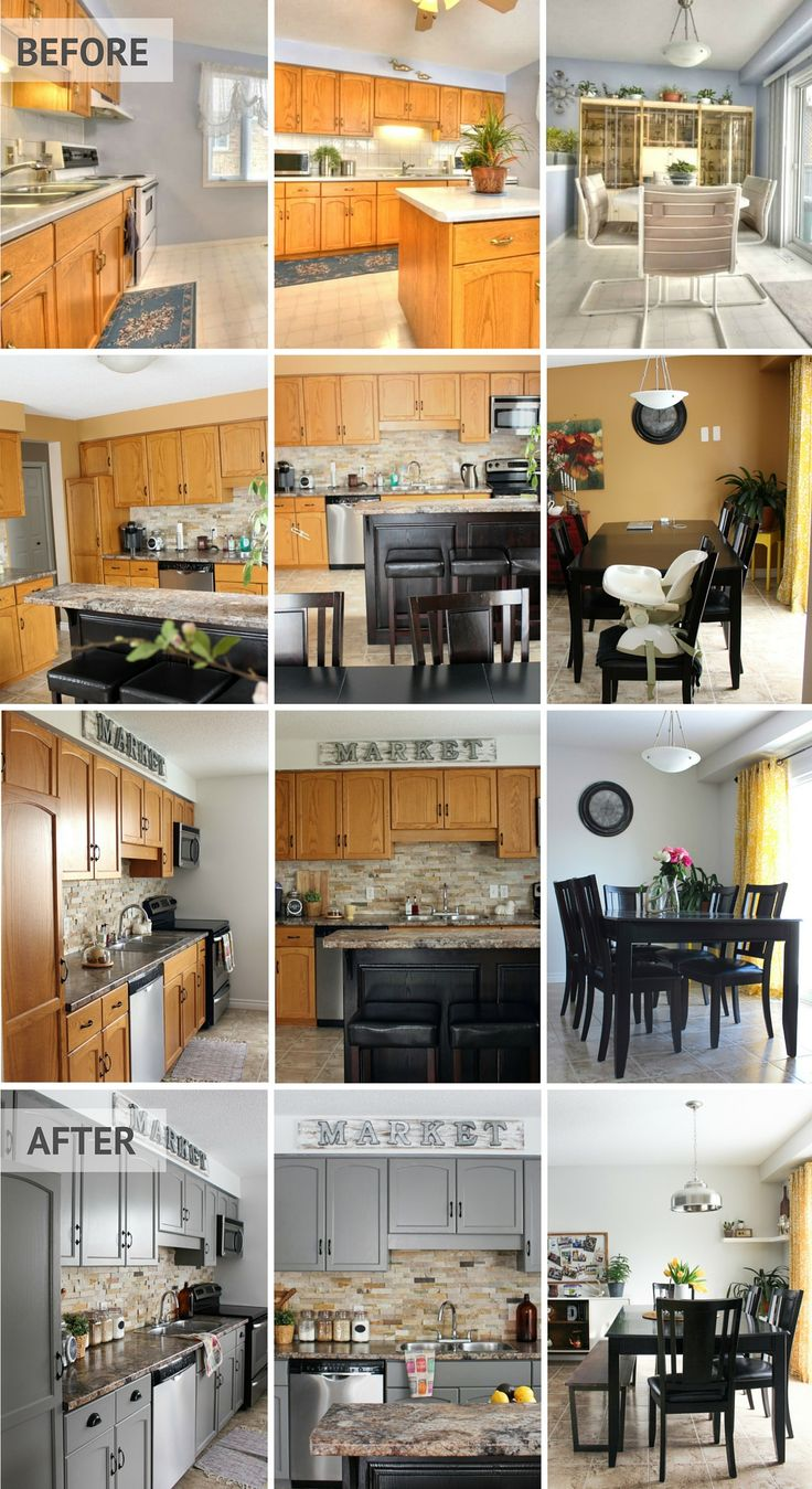 Kitchen Cabinet Makeover | Little Dekonings Blog