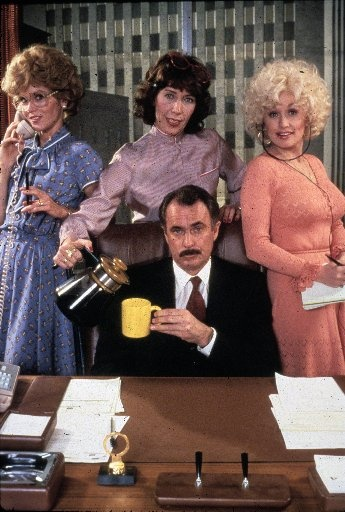 9 to 5 (1980 comedy starring Jane Fonda, Lily Tomlin, Dolly Parton, and Dabney Coleman)