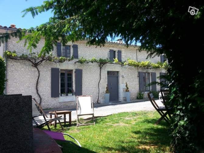 Maison charentaise aux alentours de Royan