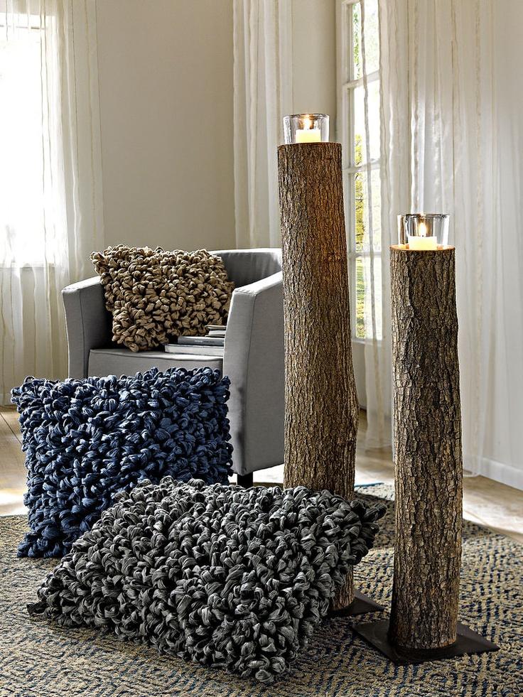Si vous êtes à la recherche dune décoration naturelle chic et originale les troncs bûches et autres branches habilleront vos intérieurs et vos extérieu