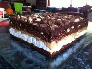 Recipes & Recipes: NO BAKE CHOCOLATE LASAGNA