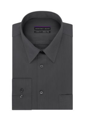 Geoffrey Beene Granite Big  Tall Non-Iron Fitted Dress Shirt