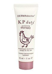 Travel Size DERMAdoctor KP Duty Cream (1 oz) by DERMAdoctor. $12.00. Keratosis Pilaris (KP) is a common skin disorder, typified by chicken skin bumps on upper arms, thighs, torso, buttocks and occasionally the cheeks. Excess skin forms around individual hair follicles, creating the characteristic minute, rough, grater-like bumps. DERMAdoctor KP Duty incorporates medically proven technology including ingredients for hydrated and healthy skin. Medically potent levels of Gl...