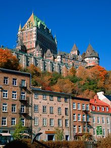 Old Quebec City - Chateau Frontenac