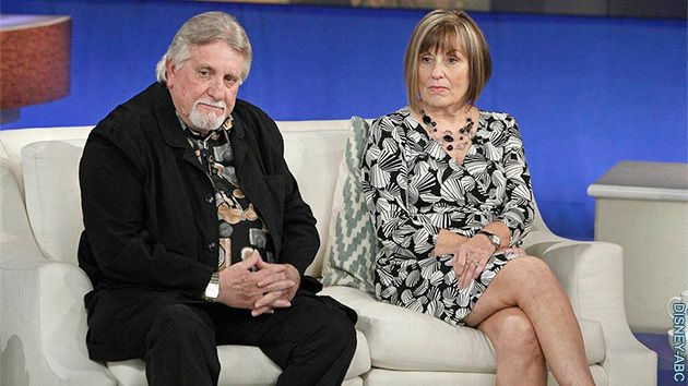 parents of laci peterson guests on the katie couric show 1