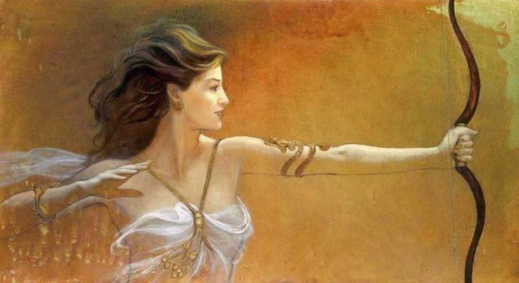 Greek Goddess Artemis Some Fantasy Art Other