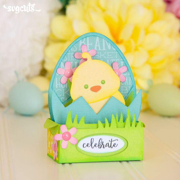 254 best spring and easter images on pinterest svg cuts cutting easter box cards svg kit negle Images