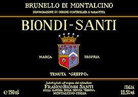 Franco Biondi Santi - Tenuta Greppo - Riserva 2004