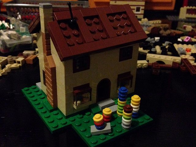 Simpsons house midi first attempt   Flickr