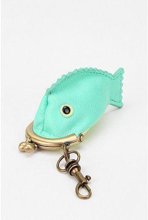 Cooperative Fish Mini Coin Purse