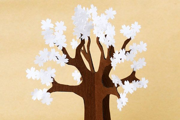 3d Paper Tree Kids Crafts Fun Craft Ideas Firstpalette Com Paper Tree Paper Tree Craft Sculpture Kids