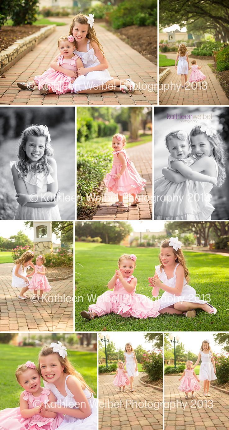 Kathleen Weibel Photography - League City Photographer: Sisters