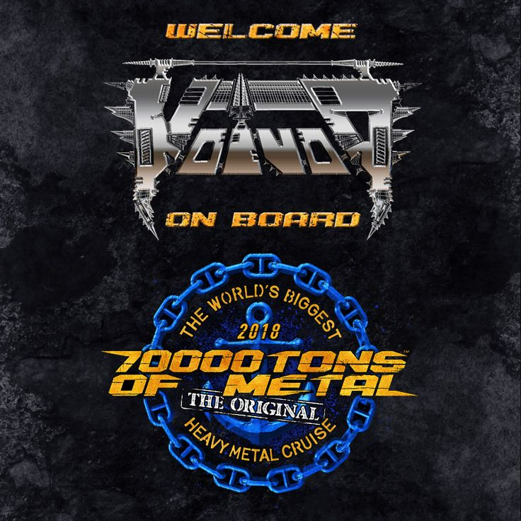 Prepare for disarray as VOIVOD astonishes you twice on board Round 8 of 70000TONS OF METAL! Once on the way to our Caribbean dream destination Grand Turk and once again on our way back to Florida.