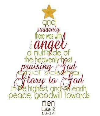 Betty Crocker Wannabe Has A Free 8  X 10  Christmas Scripture Word