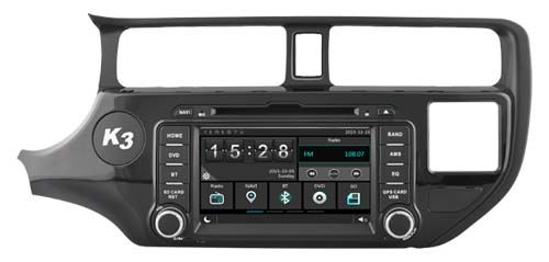 Car dvd Player for KIA K3 RIO 2011 2012 /Capactive touch/1080P/DVR/3G/WIFI/TPMS/GPS/radio/navigation/free map camera