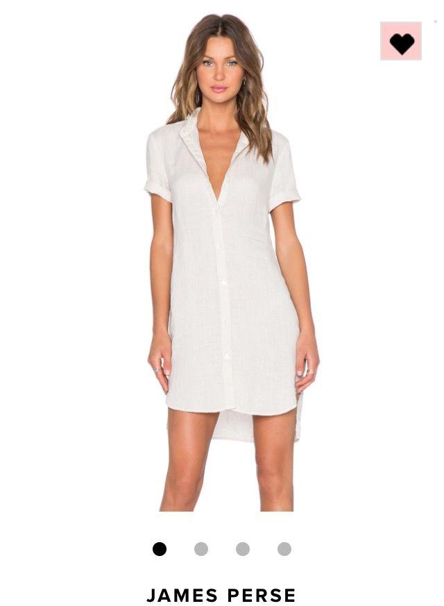 James Perse Blouse Dress