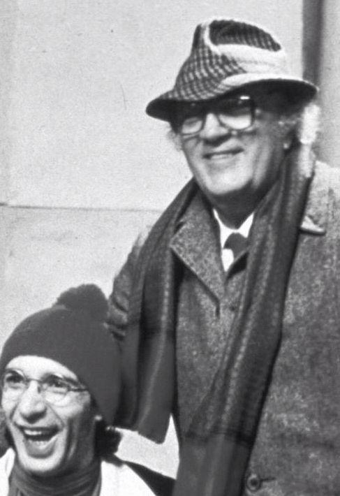 Roberto with Federico Fellini