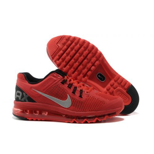 nike air max 2013 id black silver red table linen