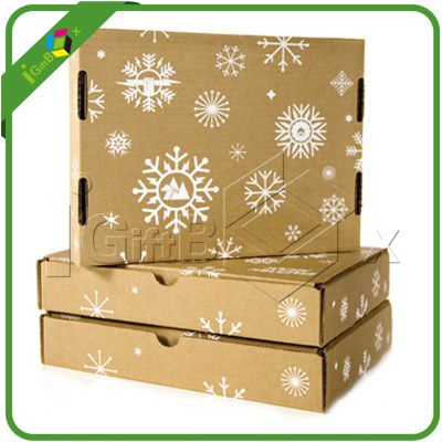 New Design Flat Packed Corrugated Gift Boxes for Christmas Gift Shipping Packaging - corrugated box manufacturers, custom corrugated boxes, corru - Gift boxes & Gift Bags丨Igiftbox